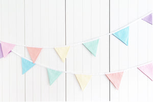 Sew Your Own Bunting Kit - Rainbow Candy Stripe