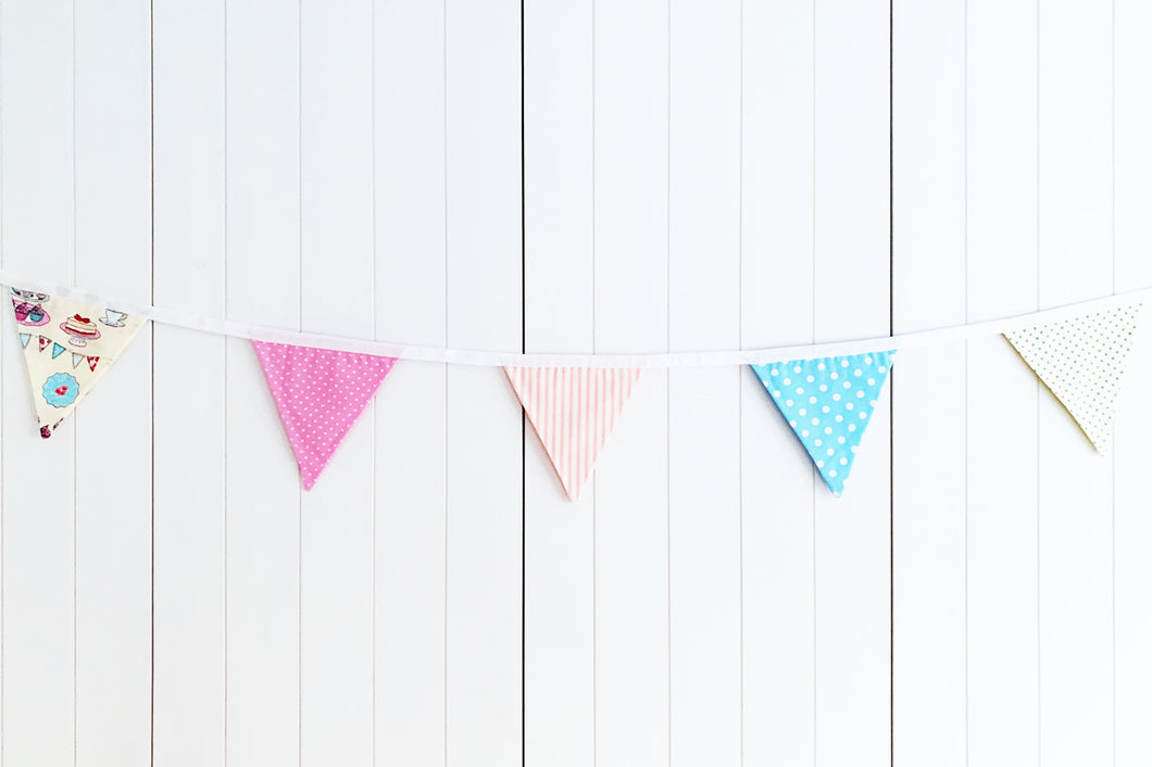 Sew Your Own Bunting Kit - Time For Tea