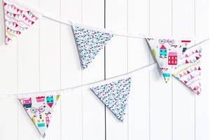 Sew Your Own Bunting Kit - Around Town