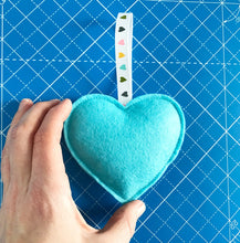 Load image into Gallery viewer, Valentine Heart Decoration - Large