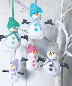 Christmas Snowman Decoration
