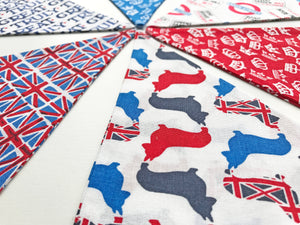Sew Your Own Bunting Kit - British
