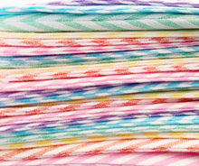 Load image into Gallery viewer, Rainbow Candy Stripe Bunting - Mini