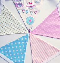 Load image into Gallery viewer, Sew Your Own Bunting Kit - Time For Tea