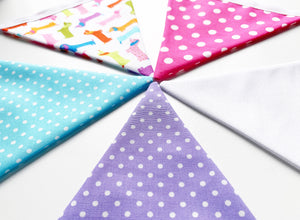 Sew Your Own Bunting Kit - Spotty Sausage Dogs