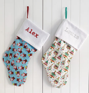 Large Christmas Stocking Personalised