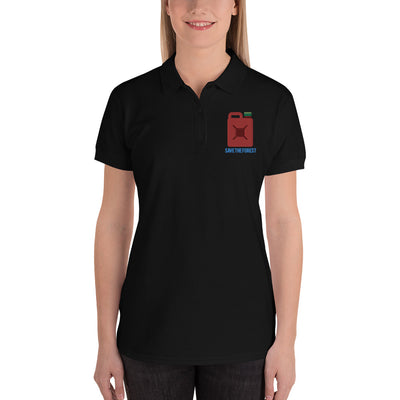 Embroidered Women's Polo Shirt - Buy & Print