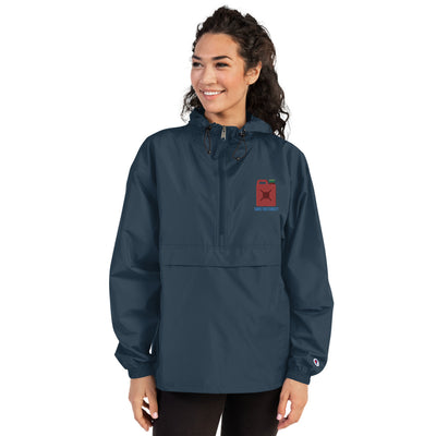 Embroidered Champion Packable Jacket - BuynPrint