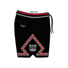 Load image into Gallery viewer, AIR BAIR BLACK Cement Basketball Shorts