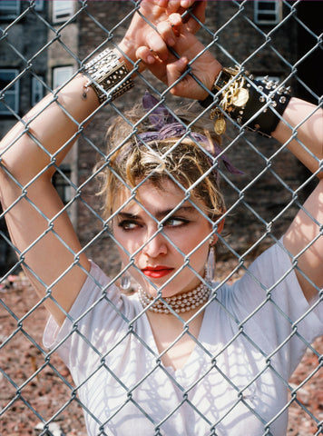 Madonna NYC' 83 Online Show photography by Richard Corman