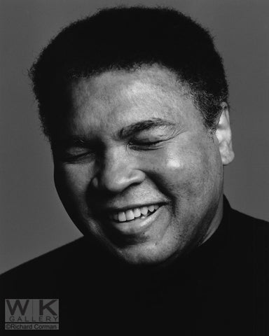Muhammad Ali Smiling by Richard Corman