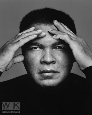 Muhammad Ali hands by Richard Corman
