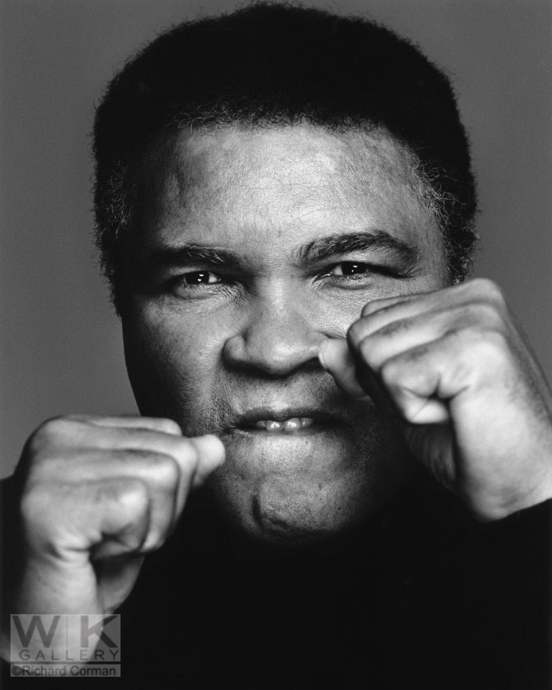 Muhammad Ali Boxing by Richard Corman