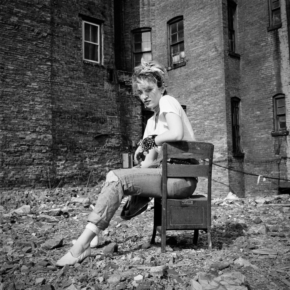 Madonna NYC '83 SHOW Madonna Rubble #5