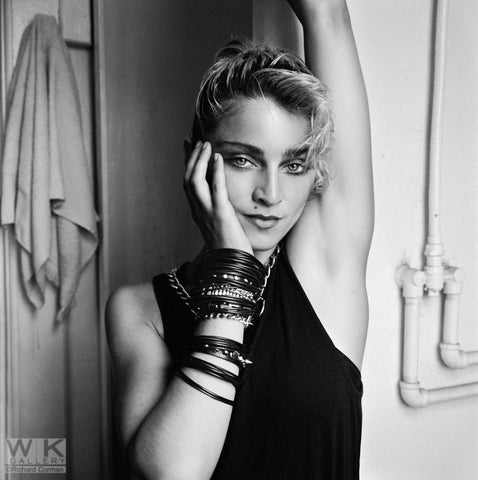 Madonna NYC '83 SHOW Madonna Bathroom #1 by Richard Corman