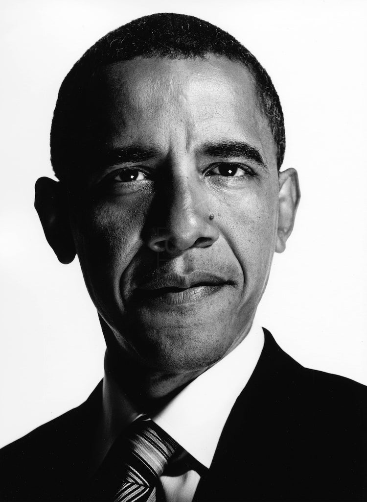 President Barack Obama #1 by Nigel Parry
