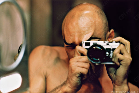 Self Portrait, The King and I, 1956 by Yul Brynner