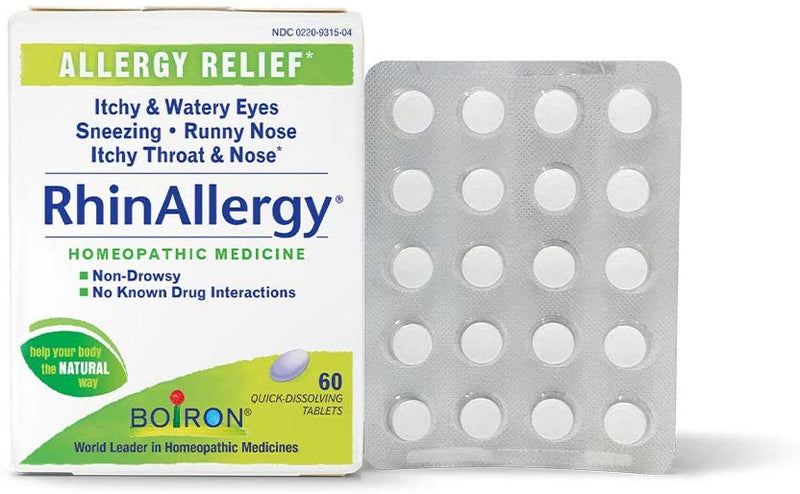 Rhin Allergy Quick Dissolving Tablets, 60 ct