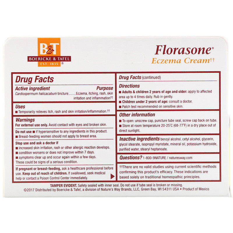 Florasone Topical Cream, 1oz