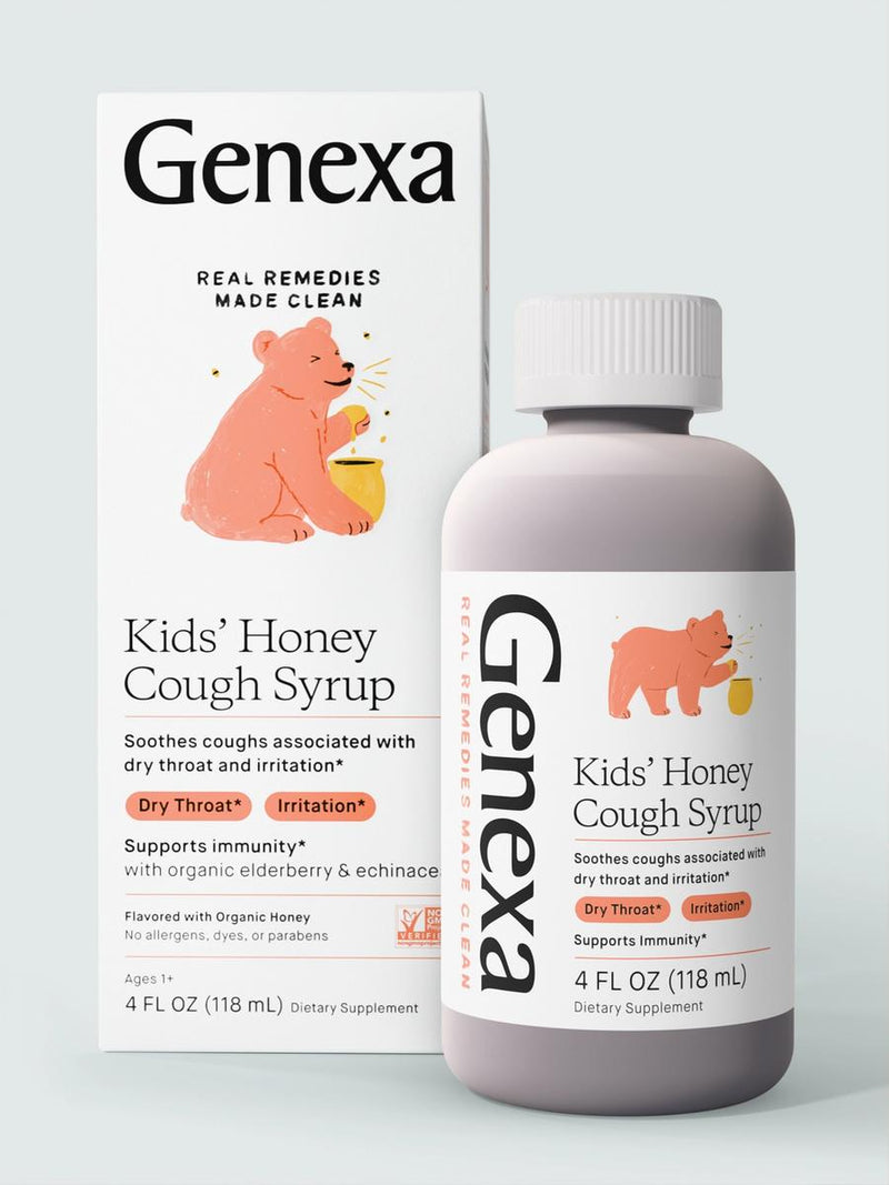 Kids' Honey Cough Syrup, 4 fl oz