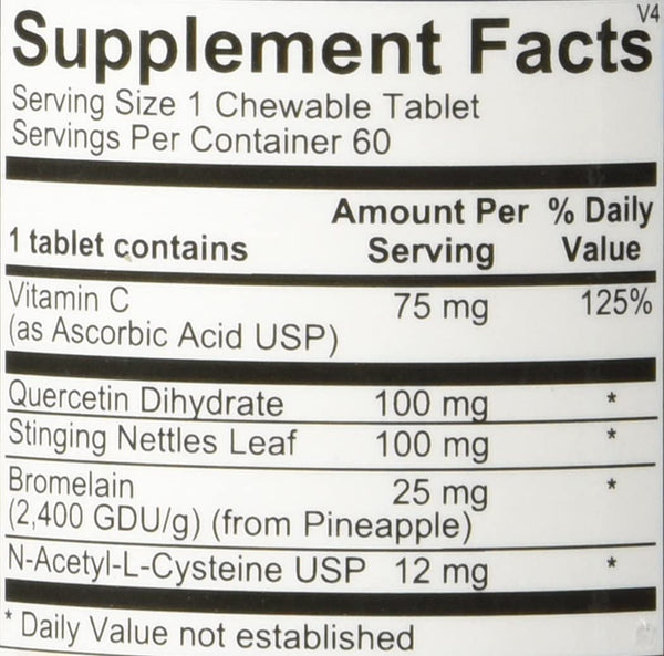 D-Hist Jr Chewable Tablets, 60ct
