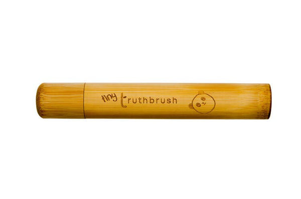 Kid's Bamboo Toothbrush Case