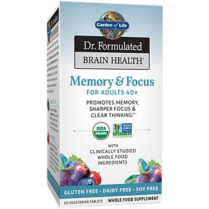 Memory and Focus Tablets, 60 ct