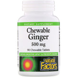 Chewable Ginger Tablets, 90ct