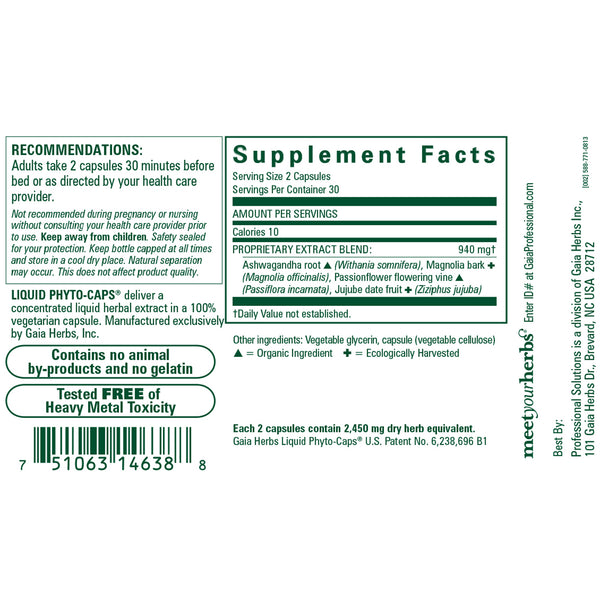 Sleep Maintenance Capsules, 60 ct