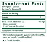Black Cohosh Capsules, 60ct