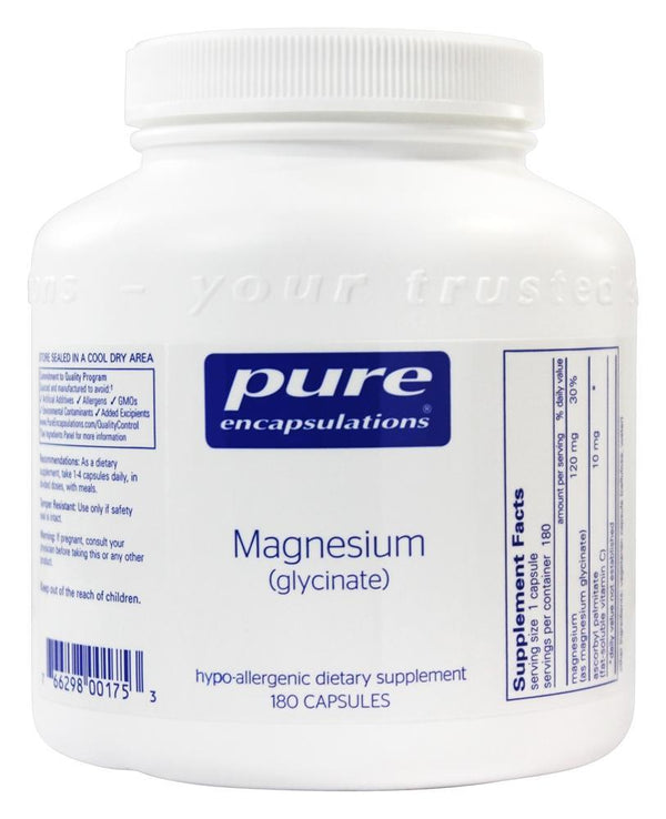 Magnesium Glycinate, 180ct