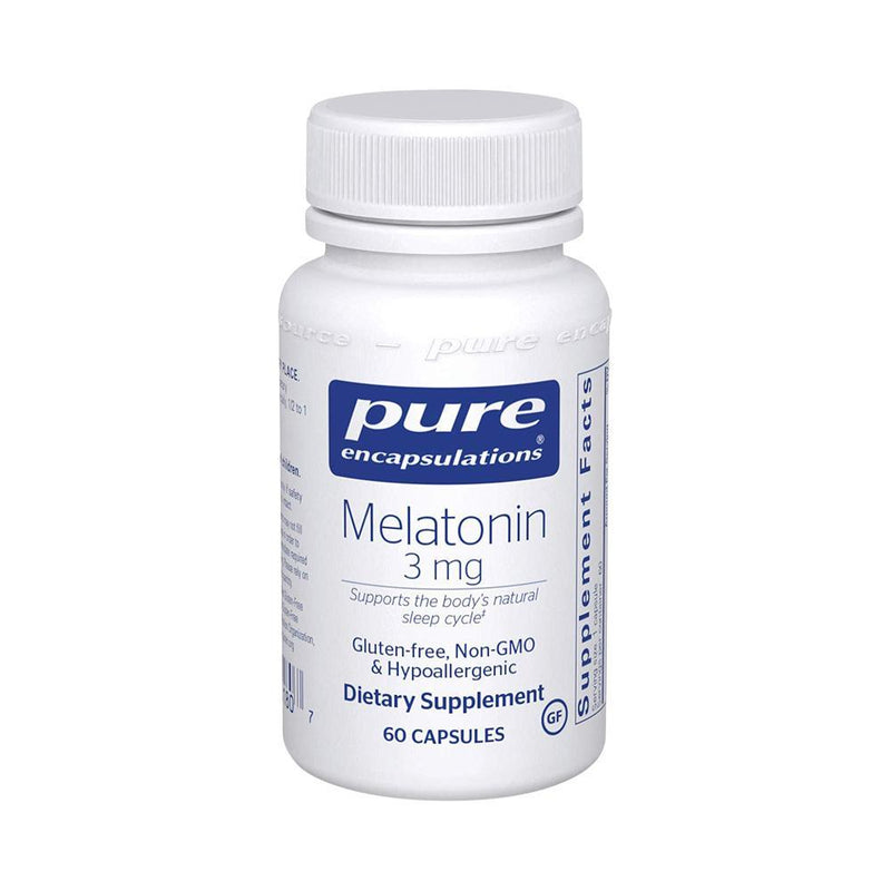 Melatonin 3mg Capsules, 60ct