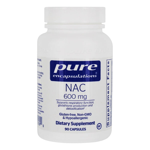 NAC 600 mg Capsules, 90ct