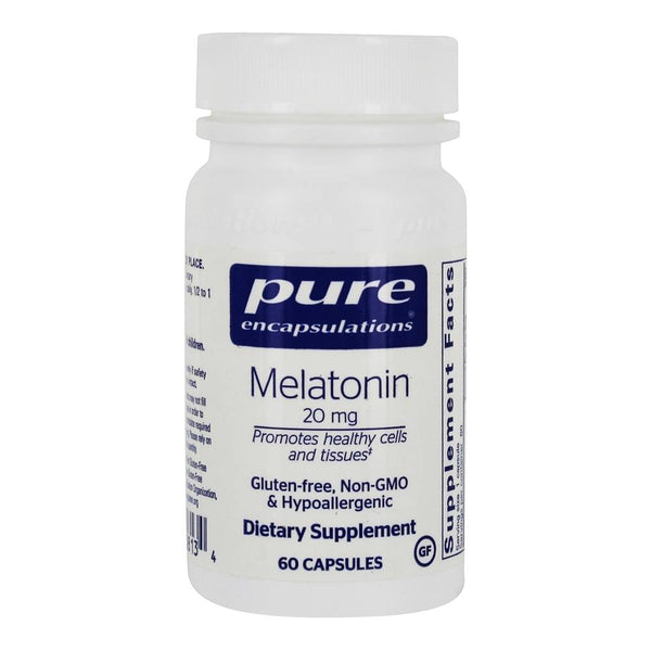 Melatonin 20 mg Capsules, 60ct