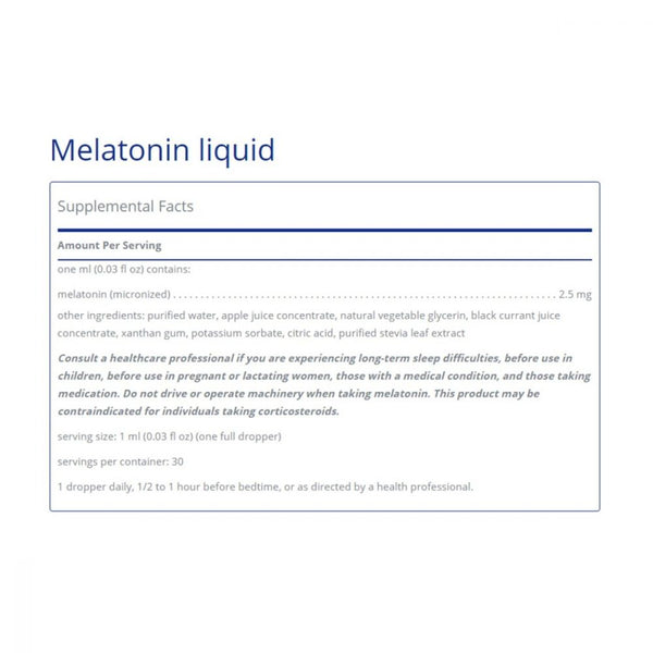 Melatonin Liquid, 1oz