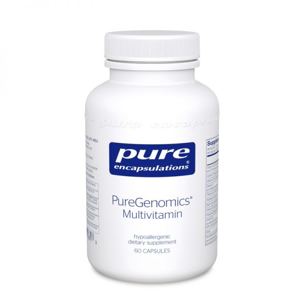 PureGenomics Multivitamin Capsules, 60ct