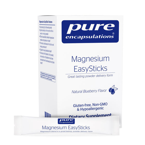 Magnesium EasySticks Powder, 30ct
