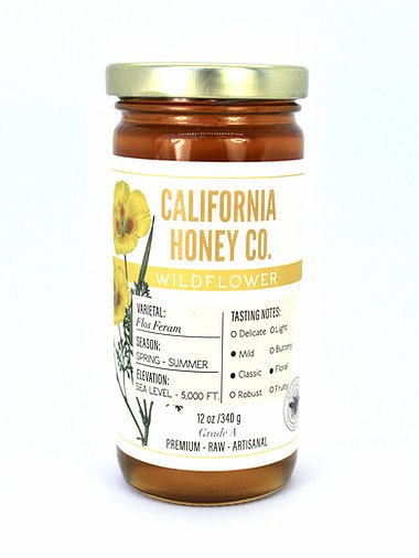 Wildflower Honey, 12 oz
