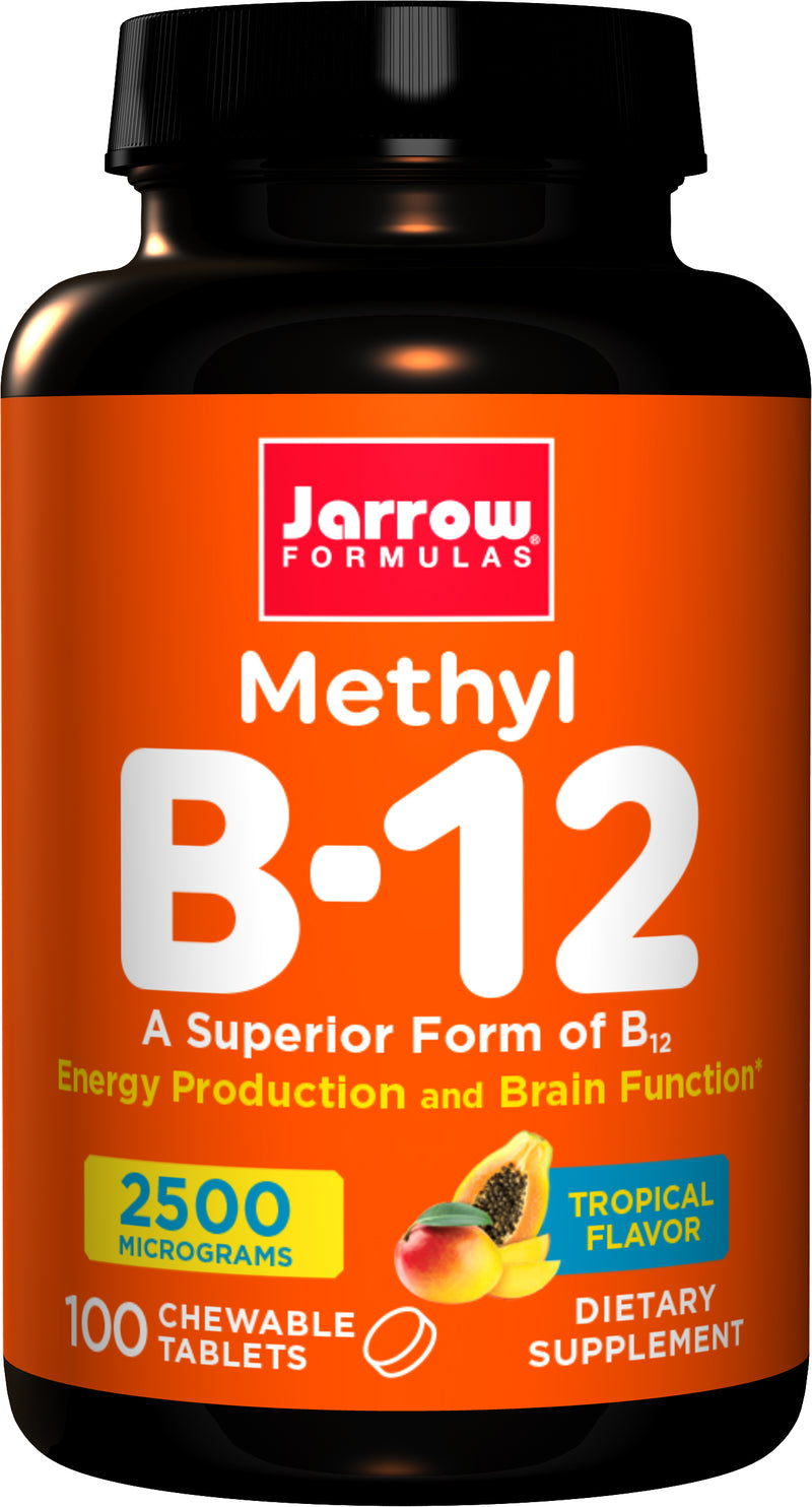 Jarrow Methyl B-12 2,500 mcg
