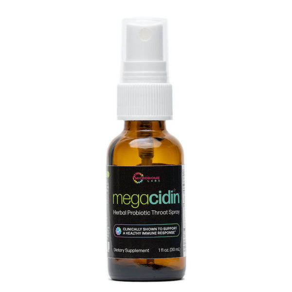 MegaCidin Herbal Probiotic Throat Spray, 1fl oz