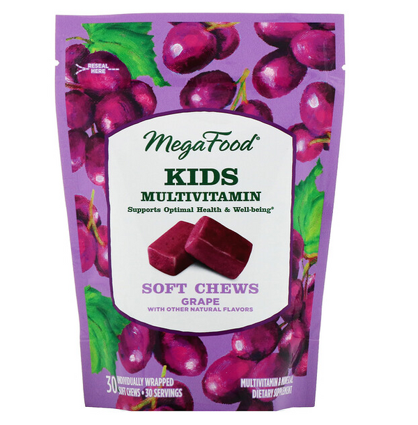 Kid's Multivitamin Soft Chews, 30 ct