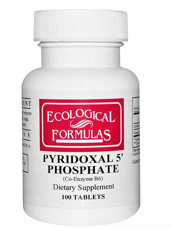 Pyridoxal 5' Phosphate Tablets, 100 ct