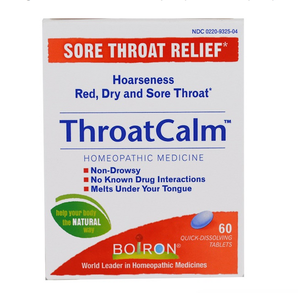 ThroatCalm Quick Dissolving Tablets, 60 ct