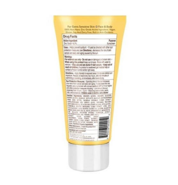 Clear Zinc Sunscreen SPF 30, 3 oz