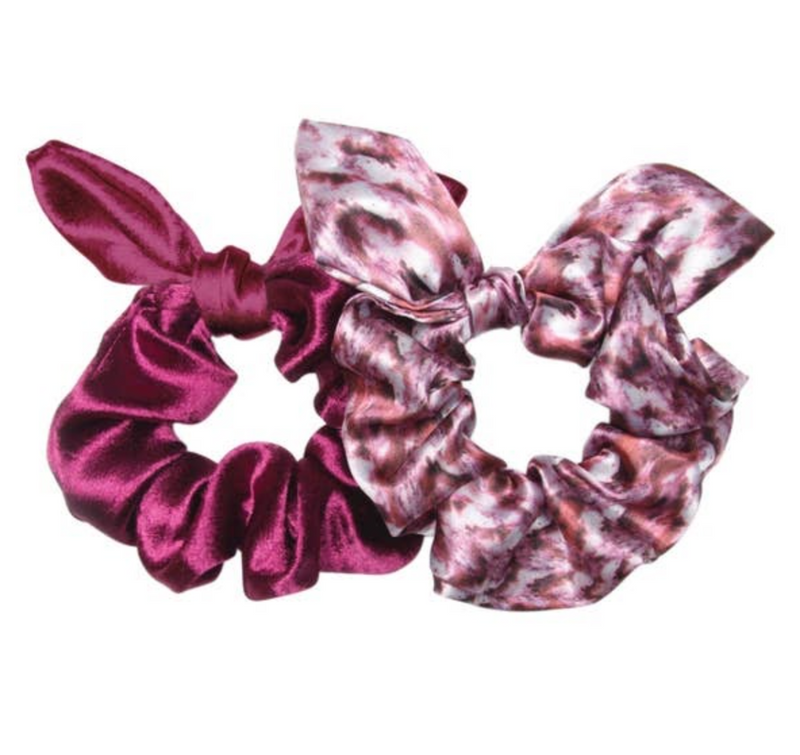 Valley of Fire Bow Scruchies, 2 ct