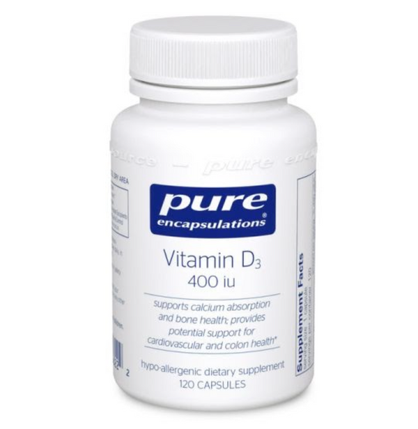 Vitamin D3 400IU, 120ct