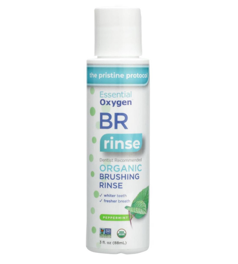 Essential Oxygen Brush Rinse, 3oz