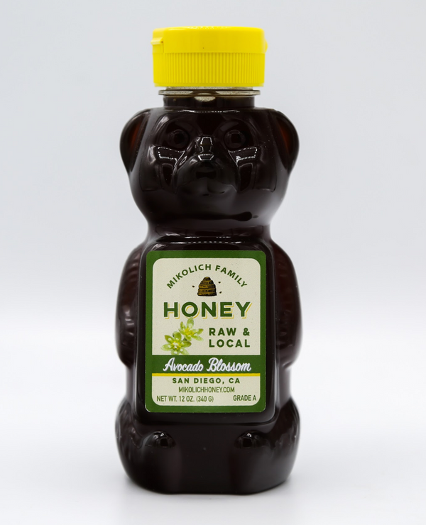 Honey Bear Avocado Blossom, 12 oz