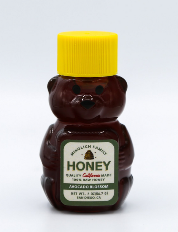 Honey Bear Baby Avocado Blossom, 2 oz