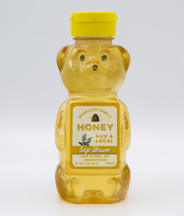 Honey Bear Sage Blossom, 12 oz